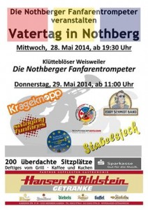 Vatertag Nothberg 2014
