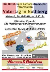 Vatertag Nothberg 2014