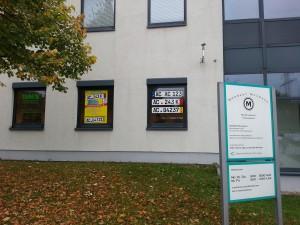 Schaufensterbeschriftung Aachen, Schaufensterreklame, Schaufensterwerbung, Schaufensteraufkleber