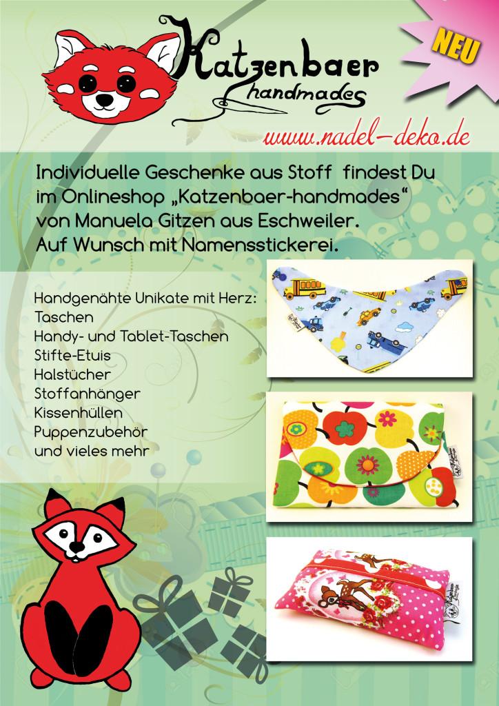 Katzenbaer-handmades, Dekoartikel