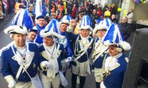 Blaue Funken Weisweiler Rosenmontagszug