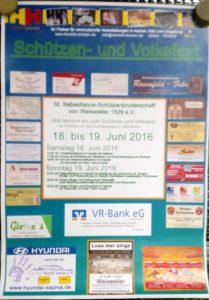 Schützenfest Weisweiler 2016