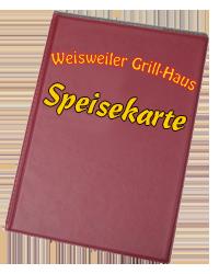 Speisekarte Grillhaus