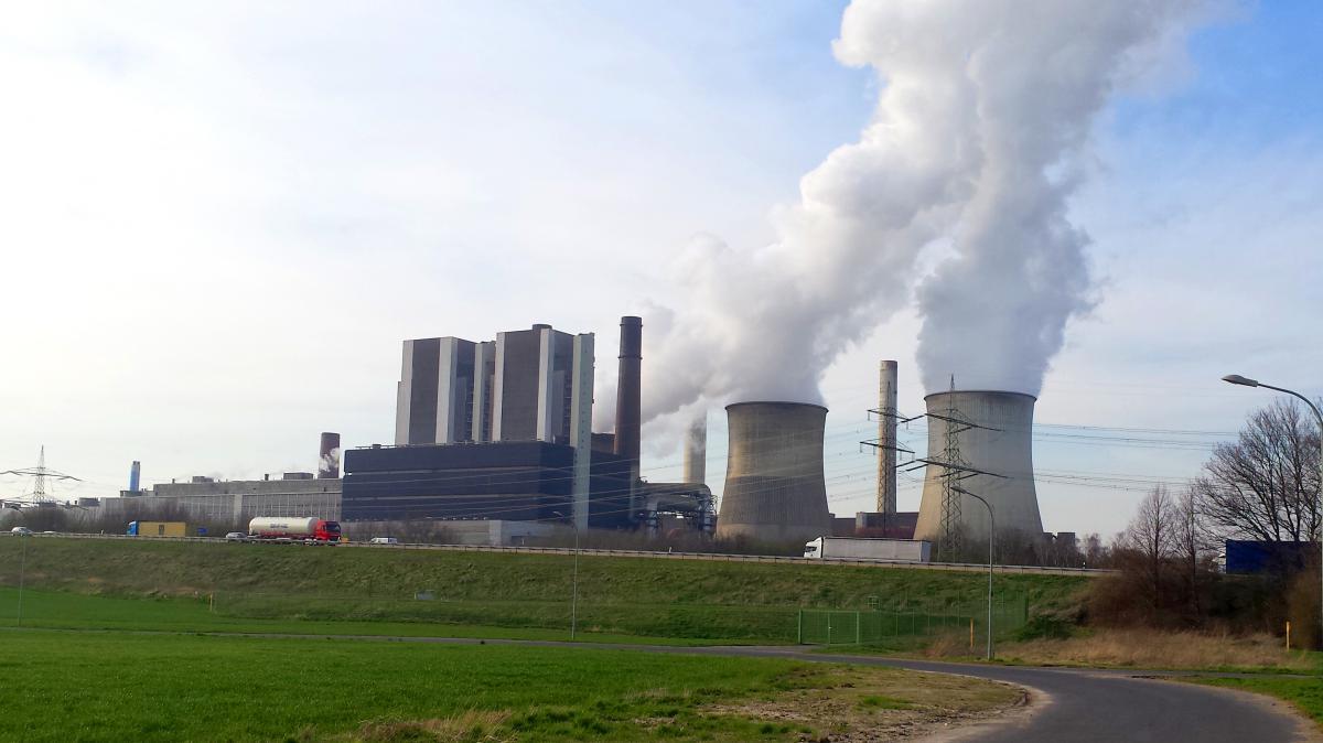 Kraftwerk Rwe Weisweiler Festhalle Weisweiler